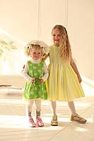 Платье желто-салатовое 4128, фото 1