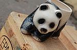 """Кашпо для цветов """"панда"""" маленькая , фото 2"""