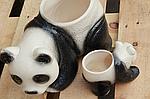 """Кашпо для цветов """"панда"""" маленькая , фото 5"""