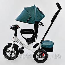 Велосипед 7700 В - 6980 Best Trike (1) ПУЛЬТ ВКЛЮЧЕНИЯ СВЕТА И ЗВУКА, ПОВОРОТНОЕ СИДЕНЬЕ, НАДУВНЫЕ КОЛЕСА , фото 2