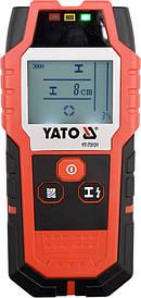 Цифровой детектор скрытой проводки и неоднородностей Yato YT-73131