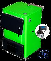 Стальной котел для дров TAL-14(Турбо) с автоматикой