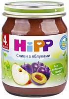 Фруктовое пюре сливы с яблоками хипп hipp HIPP