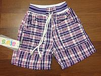 Детская одежда оптом Шорты для девочек фиолетовые р.1-4лет