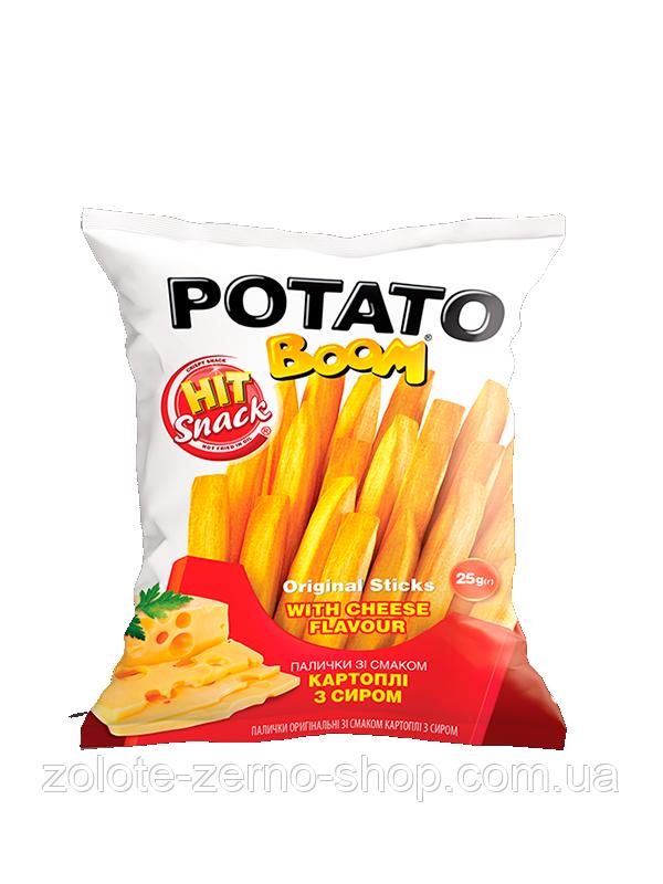 Палички кукурудзяні зі смаком картоплі з сиром 25 г