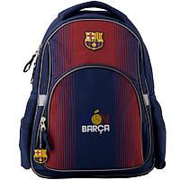 Рюкзак школьный ортопедический Kite Education FC Barcelona, для мальчиков, синий (BC19-513S), фото 1