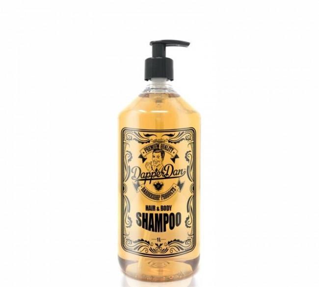 Шампунь для ежедневного применения (прозрачный) 1л  Dapper Dan