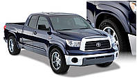 Toyota Tundra 2007-12 Расширители колесных арок на для Toyota Тойота Tundra 2007-12 с брызговиками