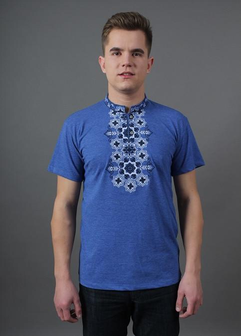 Трикотажная футболка мужская