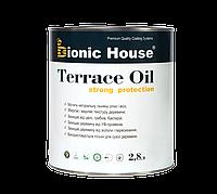 Террасное масло колерованное TERRACE OIL Bionic House на льняной основе с натуральным пчелиным воском