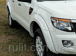Ford Ranger 2015- Расширители колесных арок на для Ford Форд Ranger 2015-, кт 4 шт