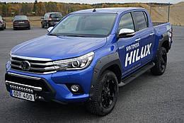 Toyota Hilux 2015- Расширители колесных арок на для Toyota Тойота Hilux 2015- Pocket style