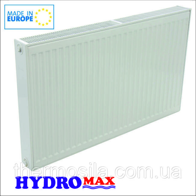 Радиатор стальной Тип 22 низ 500 х 1100, HYDROMAX