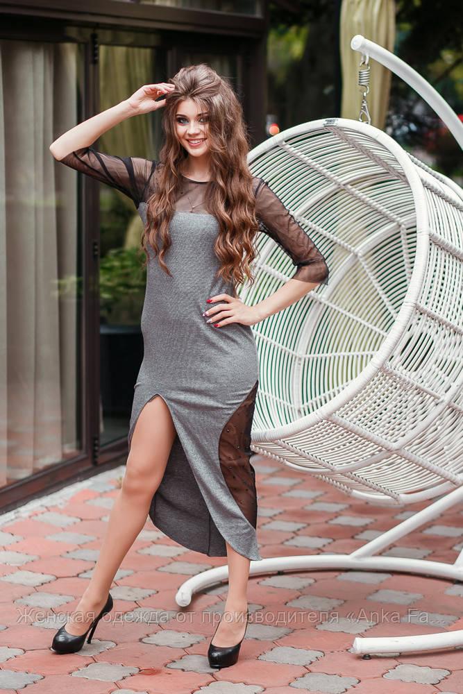 Элегантное платье-сарафан