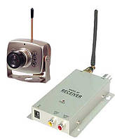 Комплект беспроводного видеонаблюдения (камера + приёмник) на частоте 1.2 Ghz до 80 метров (HAMY BK-208A)