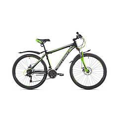 Велосипед гірський підлітковий Avanti Sprinter 2019р  26 дюйма 13',15',17'-рама ч.зелений гарантія 12 місяців