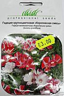 Семена  Годеция  крупноцветковая    0,25 гр  сорт Королевская смесь