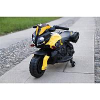 BabyTilly Электромобиль мотоцикл оранжевый/красный/белый/желтый