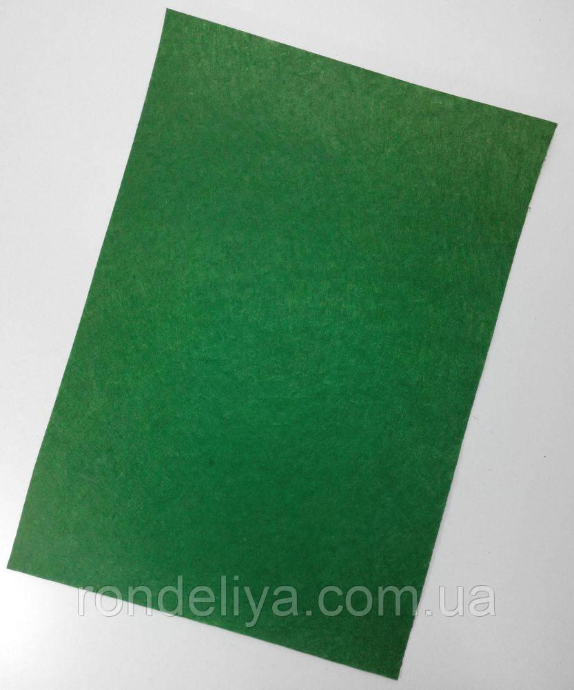 Фетр 1мм зеленый