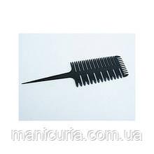 Расчёска YRE для мелирования, комбинированная с хвостиком
