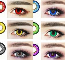Цветные контактные линзы, контейнеры для хранения
