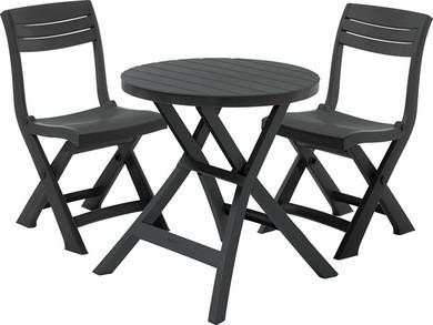 "Комплект мебели Keter Curver ""JAZZ"" 17204593 (2 стула, стол)"