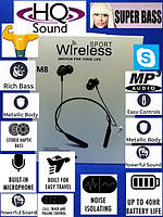 Bluetooth наушники M-8 с микрофоном / Sport, фото 1