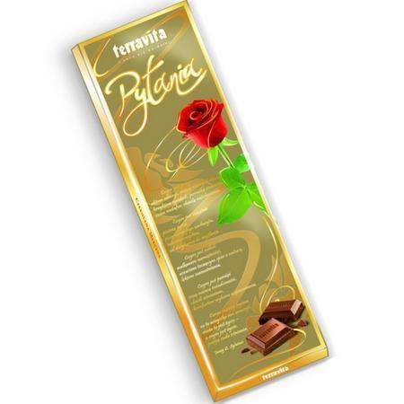 TERRAVITA PYTANIA молочный шоколад 225 гр. Польша