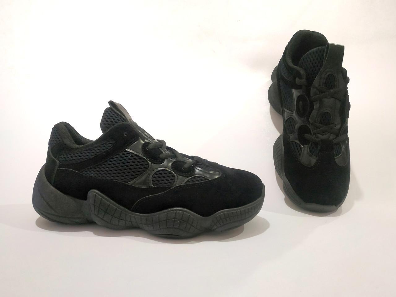 Adidas Yeezy 500 Черные |КОПИЯ| женские кроссовки адидас изи 500 \ размеры: 36-39