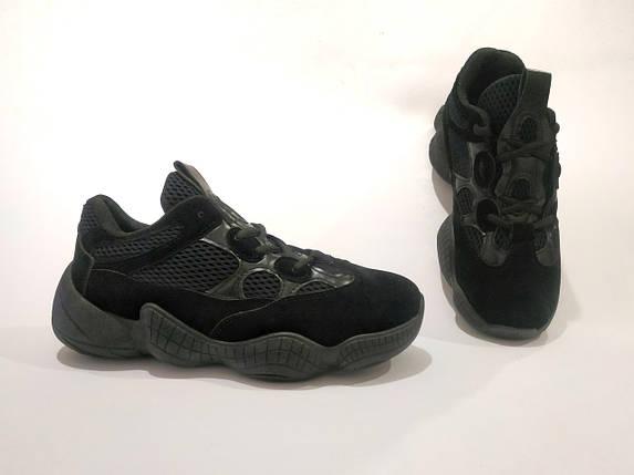 Adidas Yeezy 500 Черные |КОПИЯ| женские кроссовки адидас изи 500 \ размеры: 36-39, фото 2