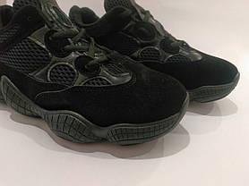 Adidas Yeezy 500 Черные |КОПИЯ| женские кроссовки адидас изи 500 \ размеры: 36-39, фото 3