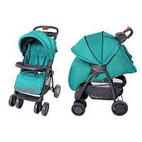 BabyTilly Детская Коляска  прогулочная трость  BABYCARE City  бирюзовая/зеленая/серая/фиолет.