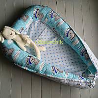 Гнездо для новорожденного (подушка для беременной, подушка для кормления) Мишки