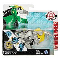 Гримлок в золотой броне. Роботы под прикрытием - Gold armor Grimlock, Rid, 1-Step, Hasbro - 143125, фото 1