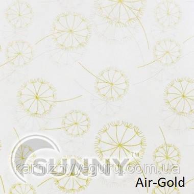 Рулонные шторы для окон в открытой системе Sunny, ткань Air