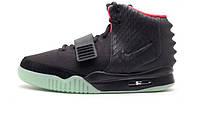 "Баскетбольные кроссовки Nike Air Yeezy 2 ""Solar Red"" Value Black"