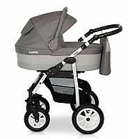 Детская коляска 2 в 1 Verdi Laser 01 серый