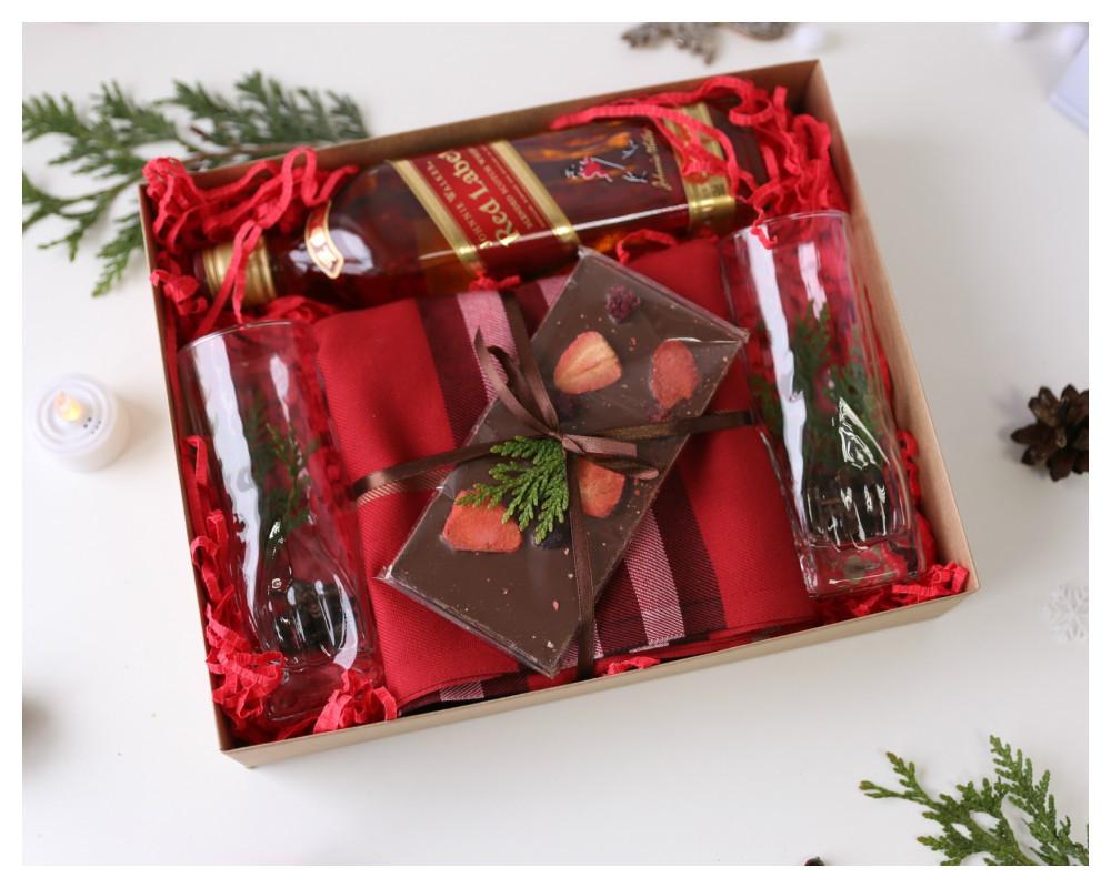 """Подарочный набор для мужчин  """"Red Jonie"""""""