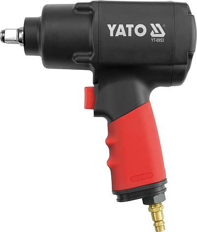 Пневматический гайковерт Yato YT-0953 1356 Nm, фото 2