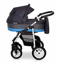 Детская коляска 2 в 1 Verdi Laser 08 синий