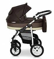 Детская коляска 2 в 1 Verdi Laser 10 коричневый
