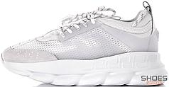 Мужские кроссовки Versace Chain Reaction 2 Chainz – White