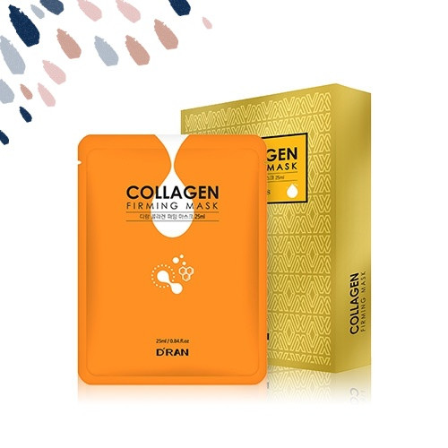 Колагенова зміцнююча маска для обличчя D RAN Collagen Firming Mask, 25 мл