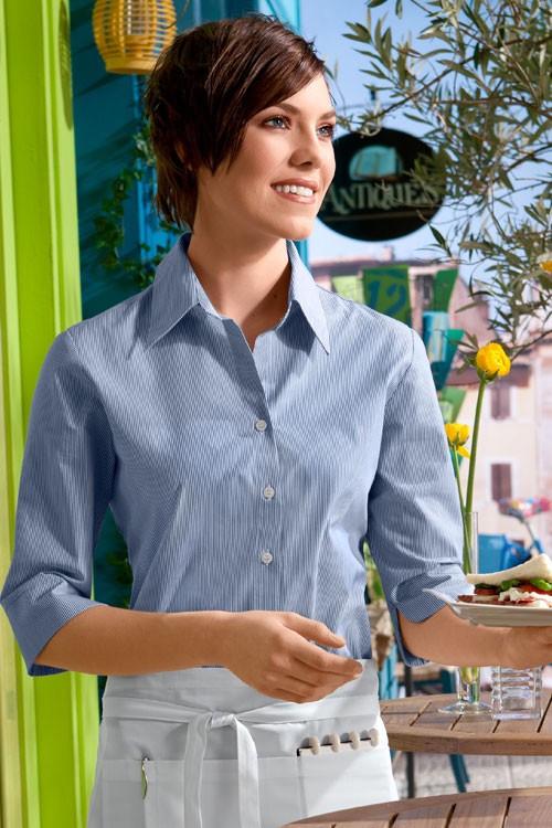 Блуза TEXSTYLE официантская женская прованс