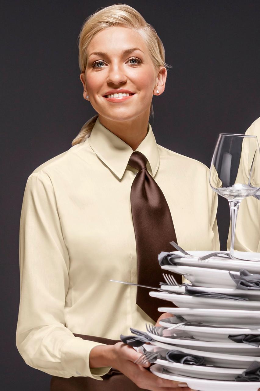 Блуза официанта женская TEXSTYLE стильная классика
