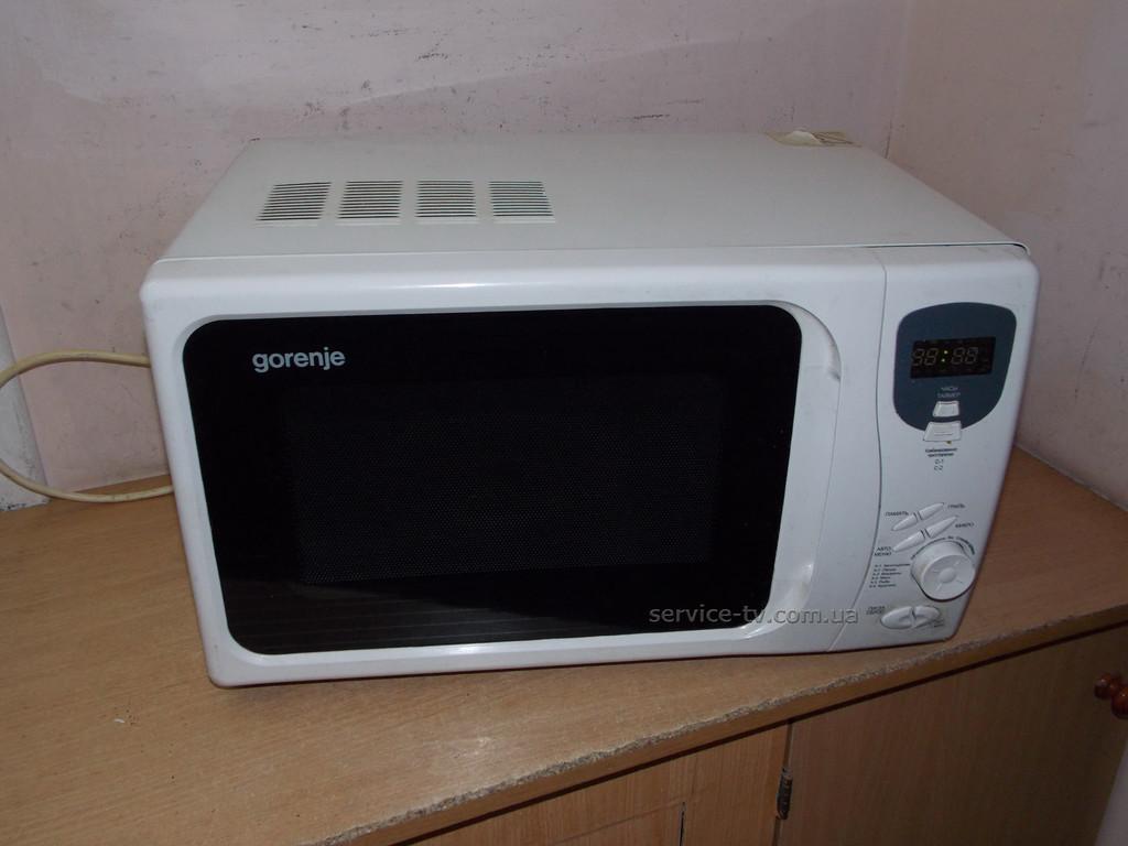 Ремонт микроволновки Gorenje MO-230DGW2-UR