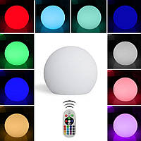Надувной водонепроницаемый шар Noblest Art 12 см с аккумуляторной системой освещения NW3027