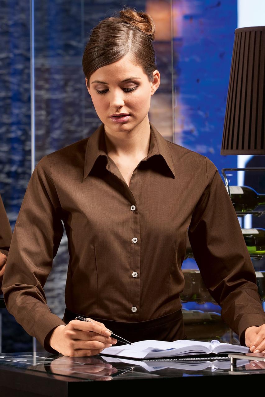 Блуза официанта, бармена женская TEXSTYLE классическая