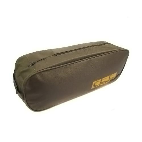Органайзер сумка чехол для обуви дорожный 35*12*9см R15626, коричневый