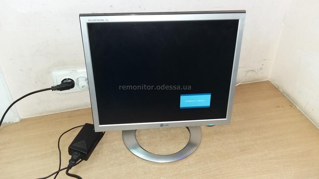 Ремонт монитора LG L1770HQ